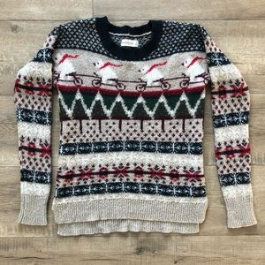 A&F Holiday Sweater
